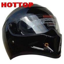 StarWars motorcycle helmet FOR FRP SIMPSON, Star Wars pig helmet ATV - 4 Stig. White