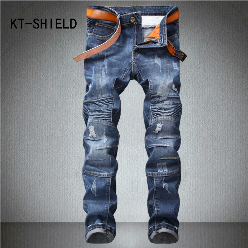skinny homme fashion casual brand men jeans Distressed ripped denim trousers biker Motorcycle stretch hombre calca masculina ripped distressed jean hombre slim fit denim overalls fashion mens biker casual hip hop long trousers calca jeans masculina