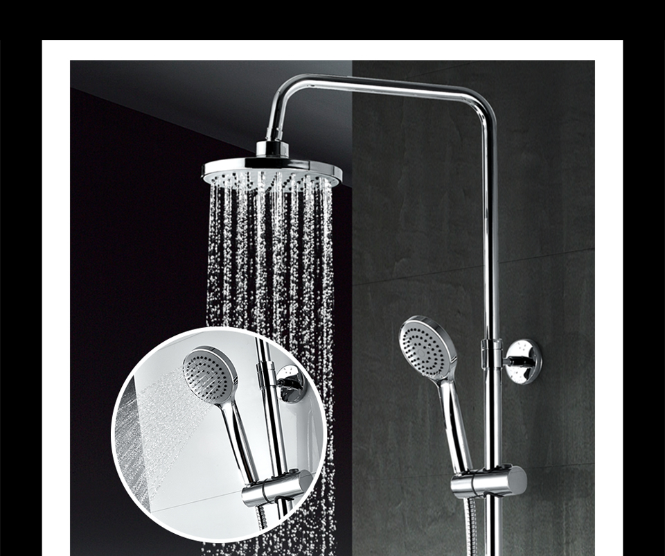 Frap Bathroom Shower Faucet 200 200mm