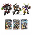 3 unids/lote Decool 101B Hero Factory 4 estrella Solider Robot CORE HUNTER a granel / VOLTIX figura de acción building block sets Compatible de la pierna