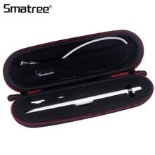 Smatree Портативный мини пенал держатель для Apple Pencil для iPad Pro 9,7, 10,5, 12,9 чехол карандаш противоударный сумка для переноски