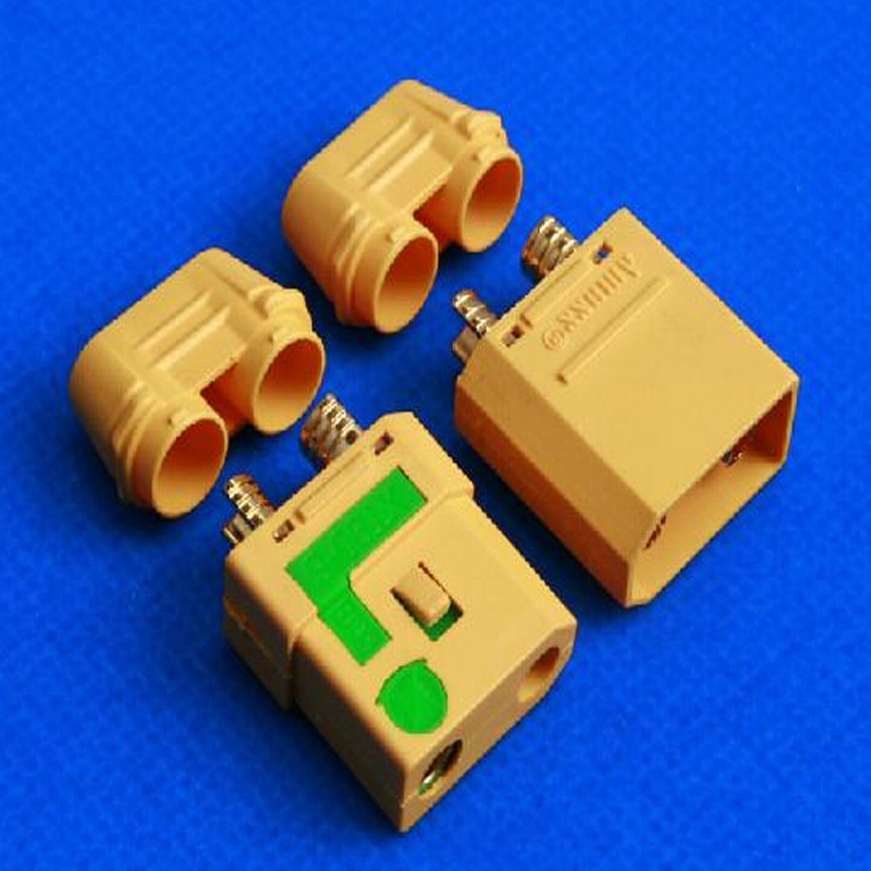 Chieacho Upgrading version of XT90 Amass Anti Spark Connector Plug Male Female XT90 S 5 Pairs