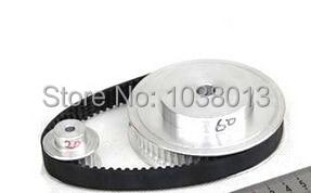 timing Belt Pulleys /Synchronous belt deceleration suite 3M (3:1) CNC Engraving Machine Parts heidelberg sm74 timing belt