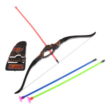 35Cm Funny Plastic Archery Bow And Arrow Toys For Children With Sucker Gifts Set Outdoor Garden Games Toy Shooting