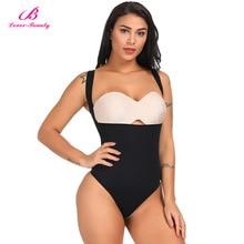 1a6e6f00ddf28 Lover Beauty Seamless Body Shaper Waist Cincher Trainer Underbust Slimming  Tummy Control Shapewear Underwear Women Thong