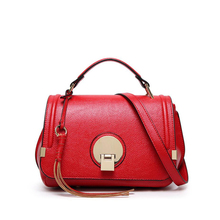 S.IKRR Women's Designer fashion wild Messenger bag simple shoulder retro luxury portable small square bag sen department retro badge chain wild shoulder bag simple small square bag fashion casual messenger messenger bag tide