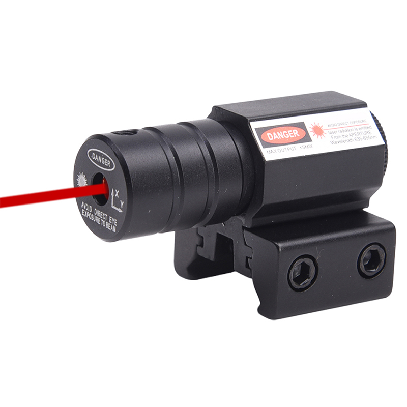 Hunting compact new Tactical Mini Red Dot Laser Sight Scope for Gun Rifle Pistol Picatinny Mount 11 20mm Military Gear Equipment