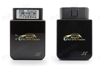 Vehicle GPS Locator Tracker OBD Interface Free Installation Plug And Play For Car Motorcycle