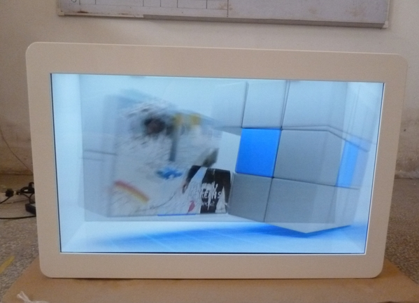 22 & 46 transparent touch screen lcd display kiosk Display Screen