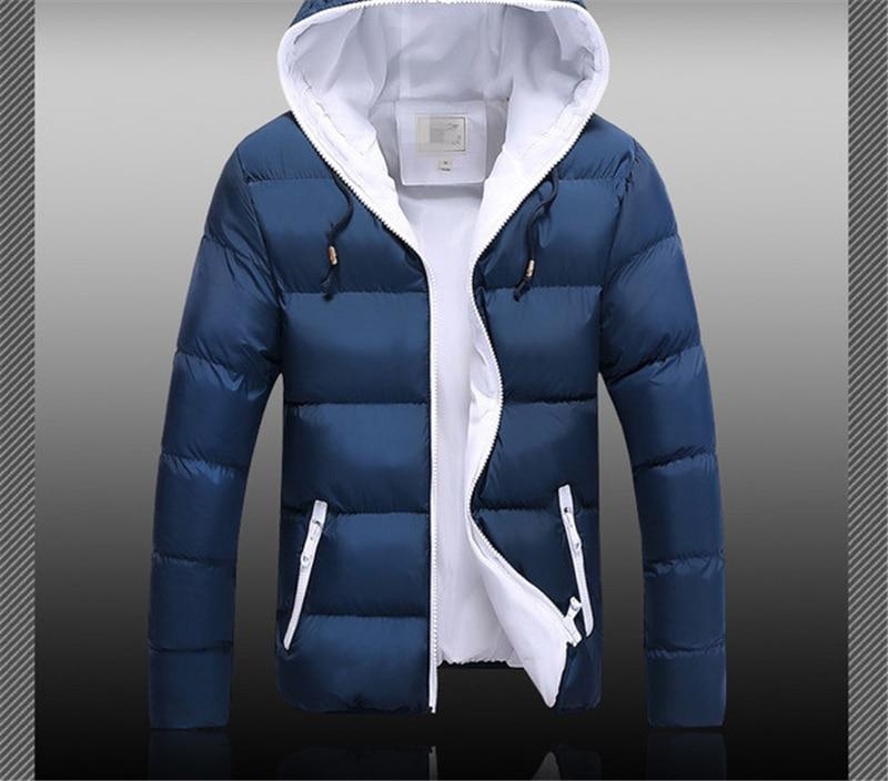 HTB1sZ1PXcfrK1Rjy1Xdq6yemFXaD Jackets Men 2019 Winter Casual Outwear Windbreaker Jaqueta Masculino Slim Fit Hooded Fashion Overcoats Homme Plus Size