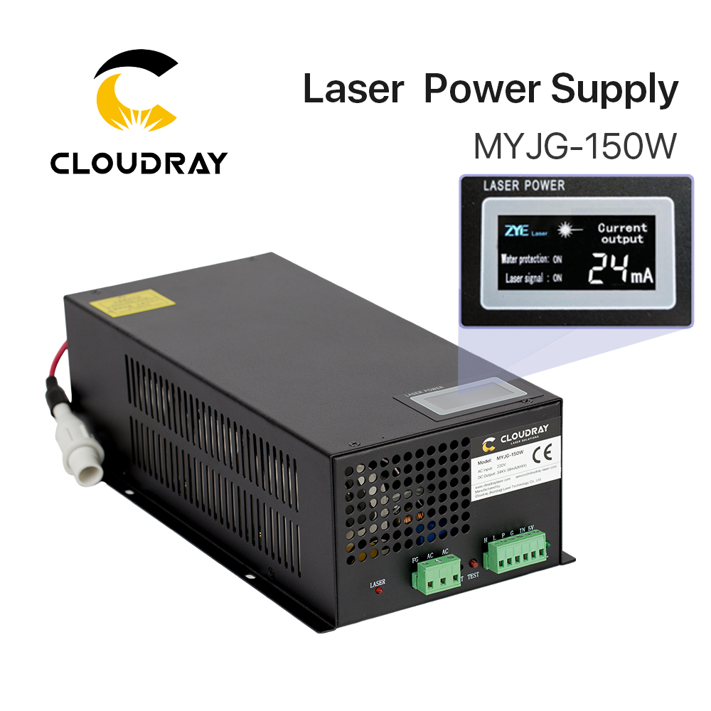 Cloudray 130 150W CO2 Laser Power Supply for CO2 Laser Engraving Cutting Machine MYJG 150W category