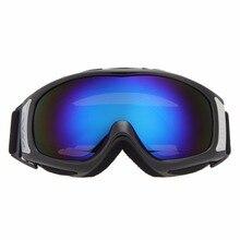 Ветрозащитный Лыжные Очки для Сноуборда Двойной UV400 Анти-туман Пыле Катание На Лыжах Очки Очки Мужчины Женщины Зима Солнцезащитные Очки