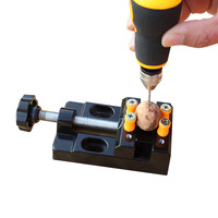 Hobby Jewelry Carving Tool Small Mini Bench Clamp Vise Walnut Clip Workshop Soldering Craft
