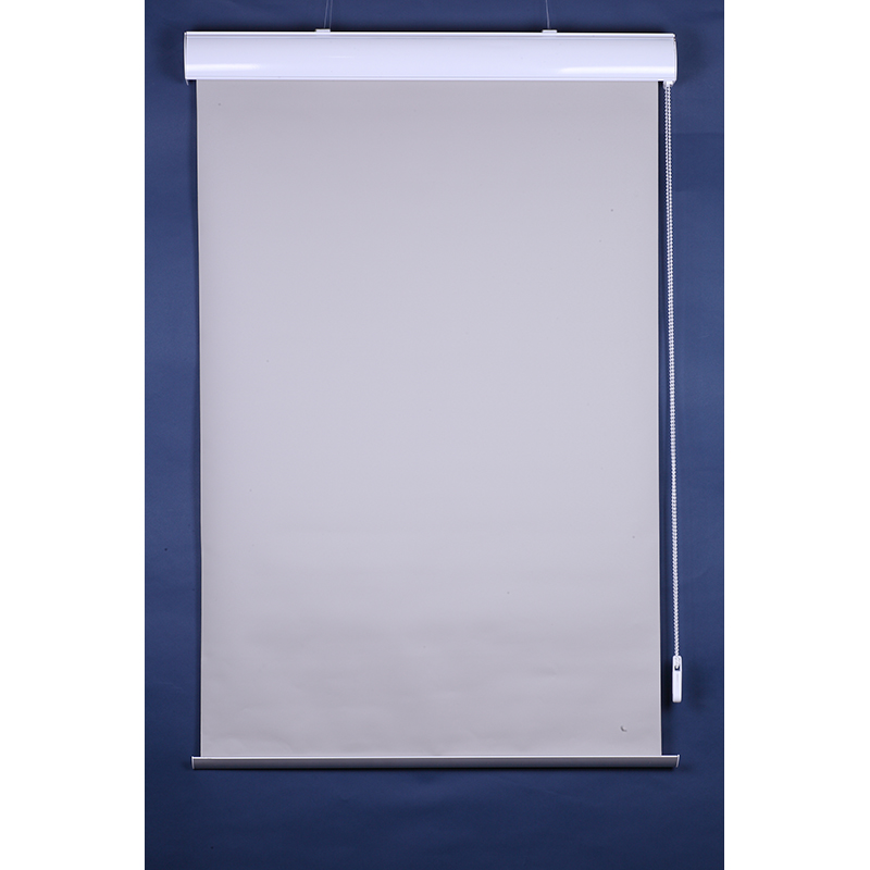 Flax Blackout Waterproof Manual Roller Blind Inflaming Retarding Roller Blind 08 Size Customized