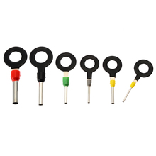 새로운 21 pcs 자동차 전기 오디오 터미널 배선 압착 커넥터 핀 제거 키 도구 키트