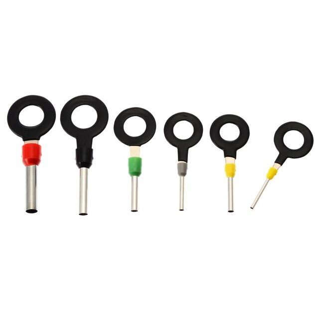Brand New 21 pcs Elétrica Áudio Do Carro Kit de Fiação Do Terminal de Friso Conector Pin Ferramenta de Remoção Da Chave