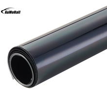 50* 300cm Black Window Tint Film Glass 25% Roll 1 PLY Auto House Commercial UV+Insulation Car Tint Film for Side Window