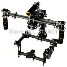 DSLR 3 Axis Brushless Gimbal / Handle Camera Gimbal Carbon Mount + AlexMos Controller + 3 Motor CANON 5D MarkII D900 a900