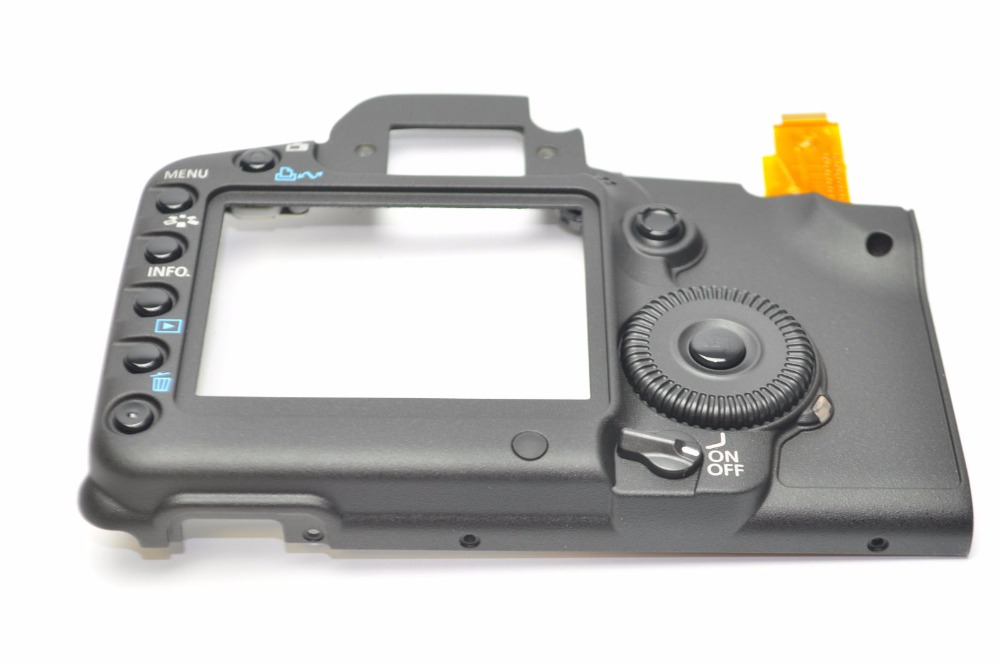 FREE SHIPPING !NEW Back Cover Assembly Units Function keys for Canon 5D2 5D Mark II SLR Digital Camera Repair Part free shipping 95%new camera back cover for sony nex 5r nex5r rear cover with door replacement repair part black