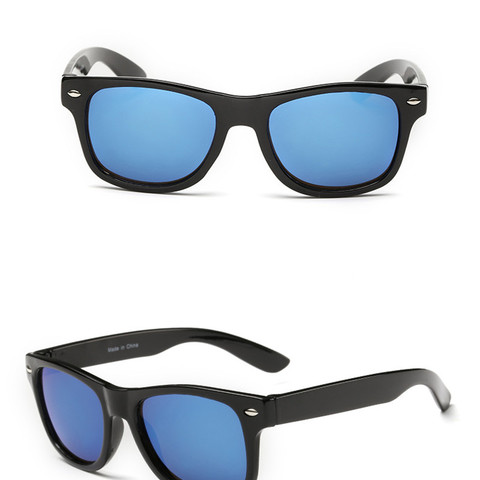 Cool 6-15 Years Kids Sunglasses Sun Glasses for Children Boys Girls Fashion Eyewares Coating Lens UV 400 Protection With Case Multan