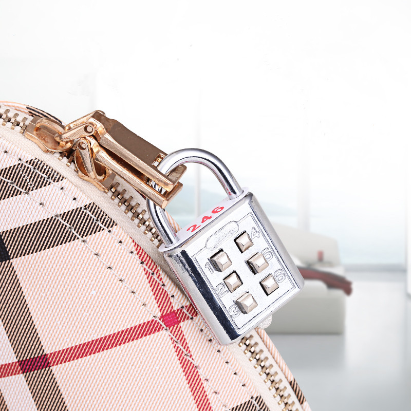 Modern mini alloy number combination lock padlock Backpack Luggage Bag Zipper Bag Cabinet suitcase locks сумка dkny сумка