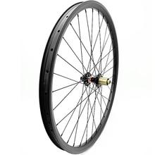 29er mtb ruota di bicicletta 35x25mm Asimmetria D792SB ruota posteriore boost 148x12 millimetri di carbonio ruote mtb senza camera daria 1423 raggi