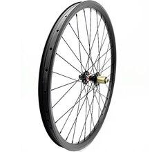 29er rueda de bicicleta de montaña 35x25mm asimétrica D792SB rueda trasera boost 148x12mm carbono ruedas de bicicleta de montaña sin cámara 1423 radios