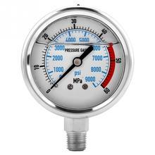 Hydraulic-Pressure-Gauge Water 0-60mpa Stainless-Steel Npt1/4-