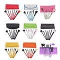 7pcs Makeup Brushes Set Toiletry Kit Make Up Brush Case PU Bag Cosmetic Foundation Eyelash Blush Eyeshadow Brush