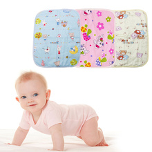 Waterproof Changing Diaper Pad Cotton Washable Baby Infant Urine Mat Nappy Bed newborn baby changing pad urinal pad infant child bed waterproof cotton cloth diaper inserts changing mat for crib stroller pad