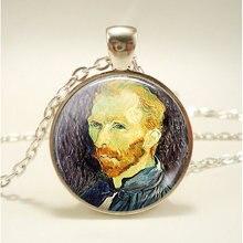 Модное художественное ретро ожерелье с подвеской в виде картины