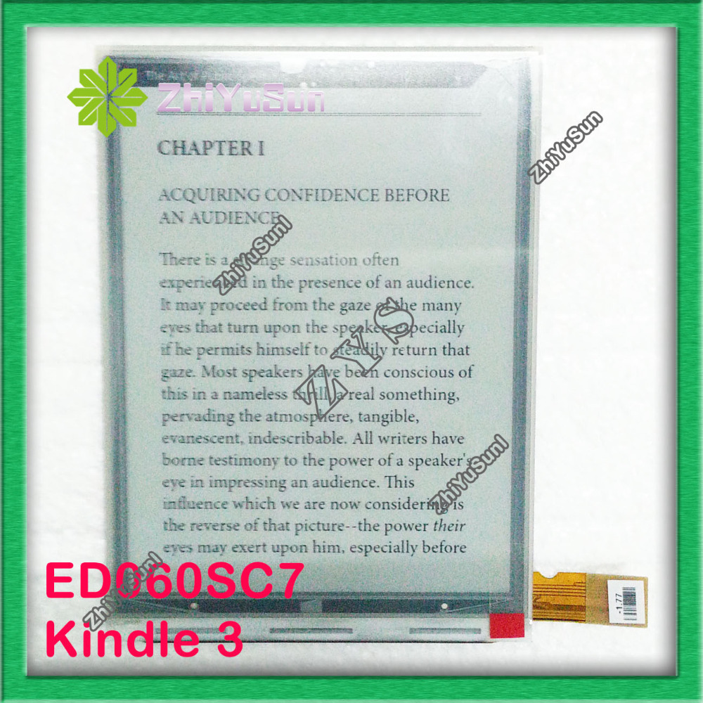 100% New ED060SC7 for Amazon kindle 3 KINDLE KEYBOARD KINDLE KEYBOARD 3G ED060SC7(LF), Safety packing energo ed 7 0 230 w220r