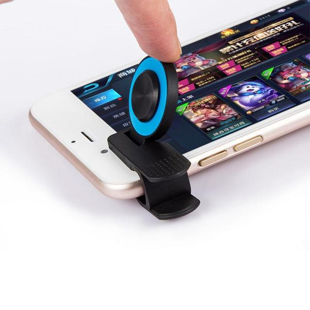 Game Joystick Portable PC+silicone Firmly Clip Gaming Supplies Suction Type Joystick For smart cell Phone Tablet