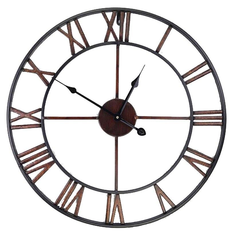 Achetez en gros 20 horloge murale en ligne des for Horloge murale fer forge
