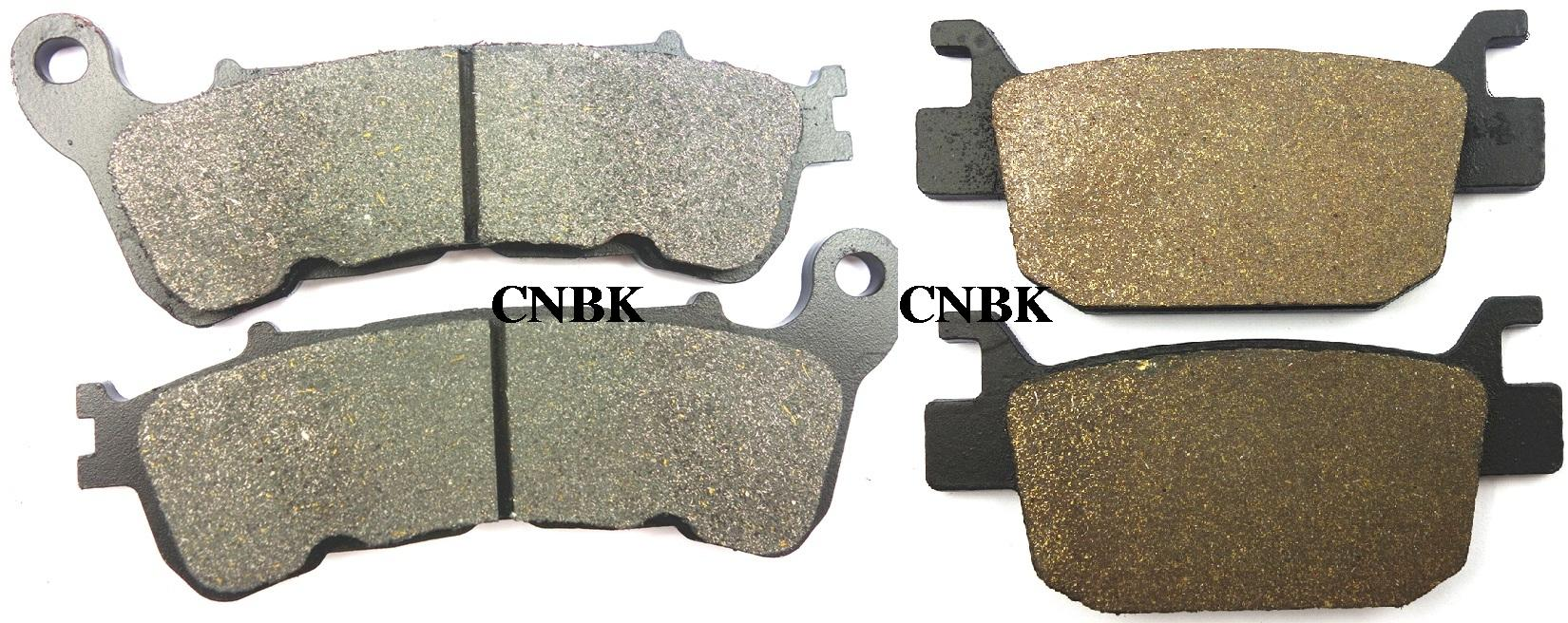 F r disc brake pads set fit honda 250 nss forza ex z nss250