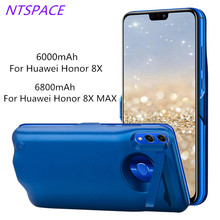 Backup Battery For Huawei Honor 8X MAX Portable Power Bank Charger Case For Huawei Honor 8X Extended Phone Battery Power Case 4700mah extended phone battery power case for huawei honor 8 lite backup power bank honor 8 lite portable battery charger case