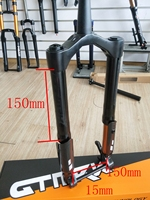 Bike Snow Fat Fork – Fat Aluminum Suspension Bicycle Fork Fit 26 4.0 Tire For Snow & Beach Cycling