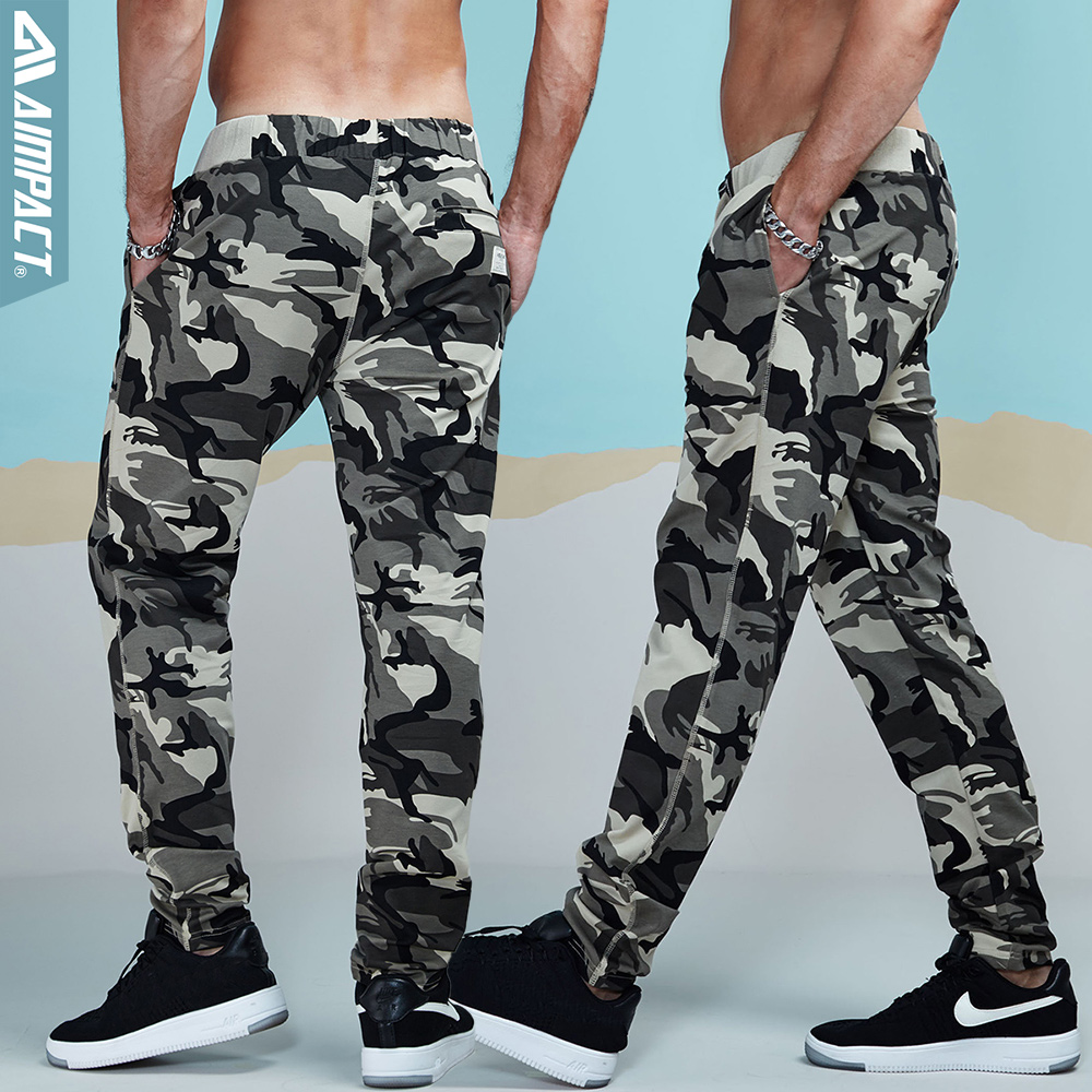 Aimpact Camouflage Jogger Pants 1