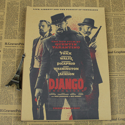 Retro Poster Vintage Kraft Paper Home Decorative Painting Kill Bill Reservoir Dogs Quentin Tarantino Inglourious Basterds