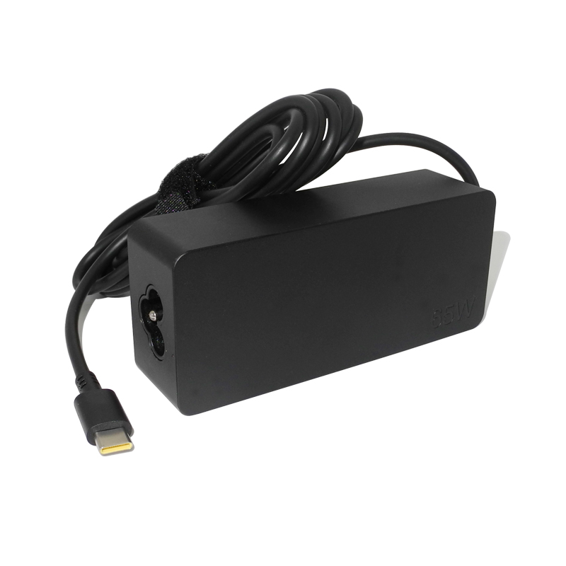 <font><b>20V</b></font> 3.25A 65W USB Typ C <font><b>Ac</b></font> Power <font><b>Adapter</b></font> Ladegerät für Lenovo Thinkpad X1carbon Yoga5 X270 X280 T580 p51s P52s E480 E470 Laptop image