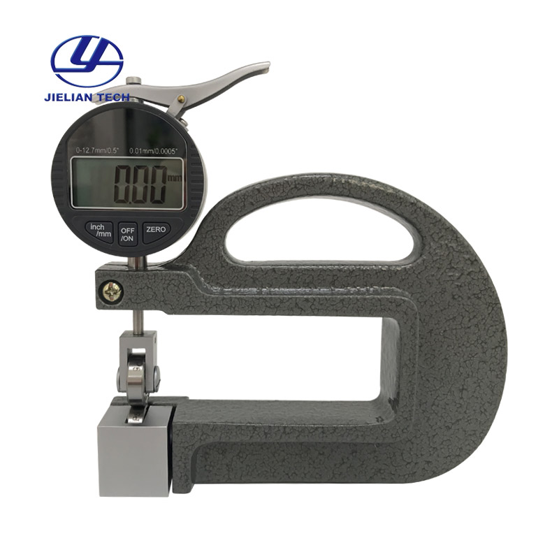 BC03B 0 01mm Digital display continuous thickness gauge meter Use in Rubber fabric in Tool Parts from Tools