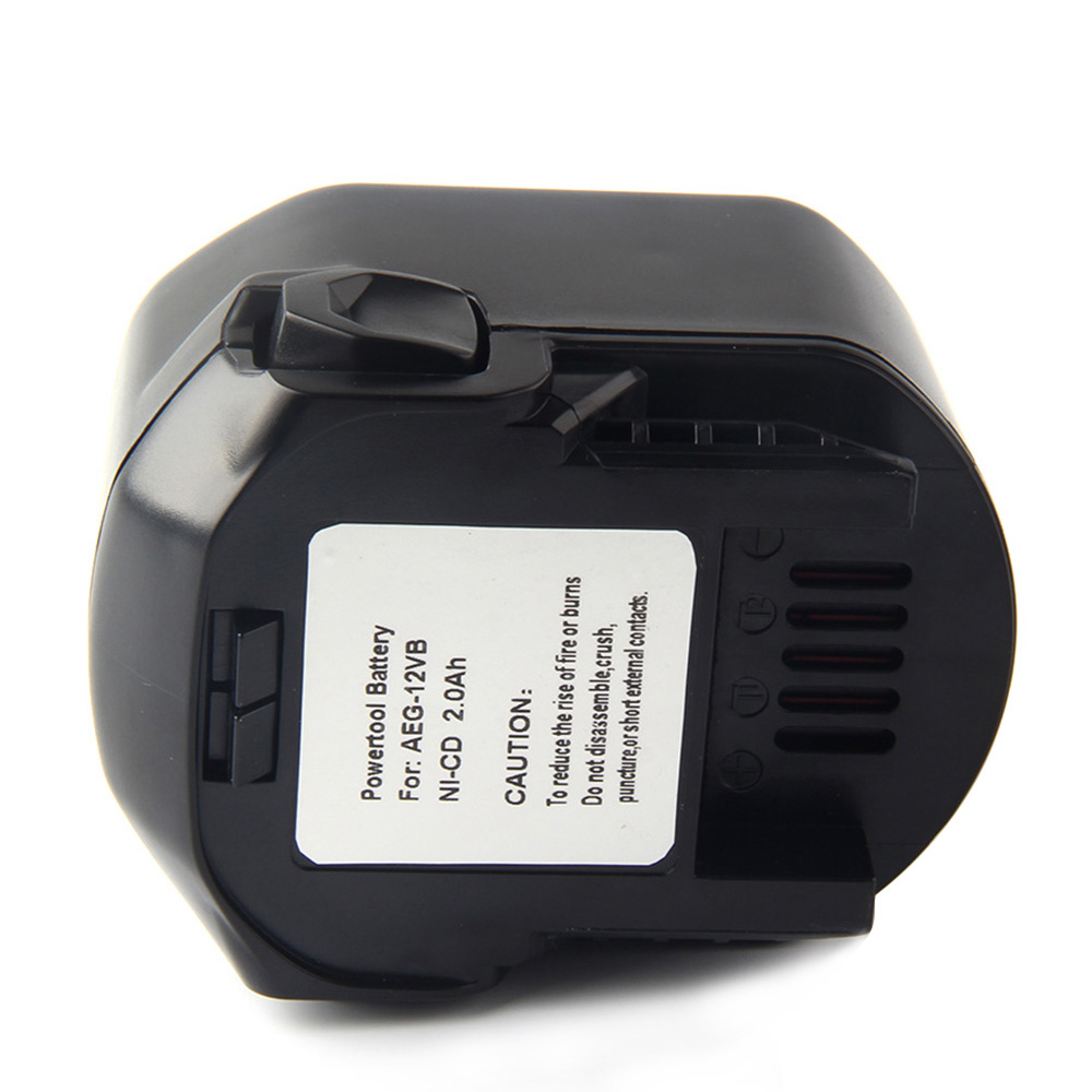 2x Batterie pour AEG 12v 2000mah pour b1214g b1215r b1220r BS 12 G