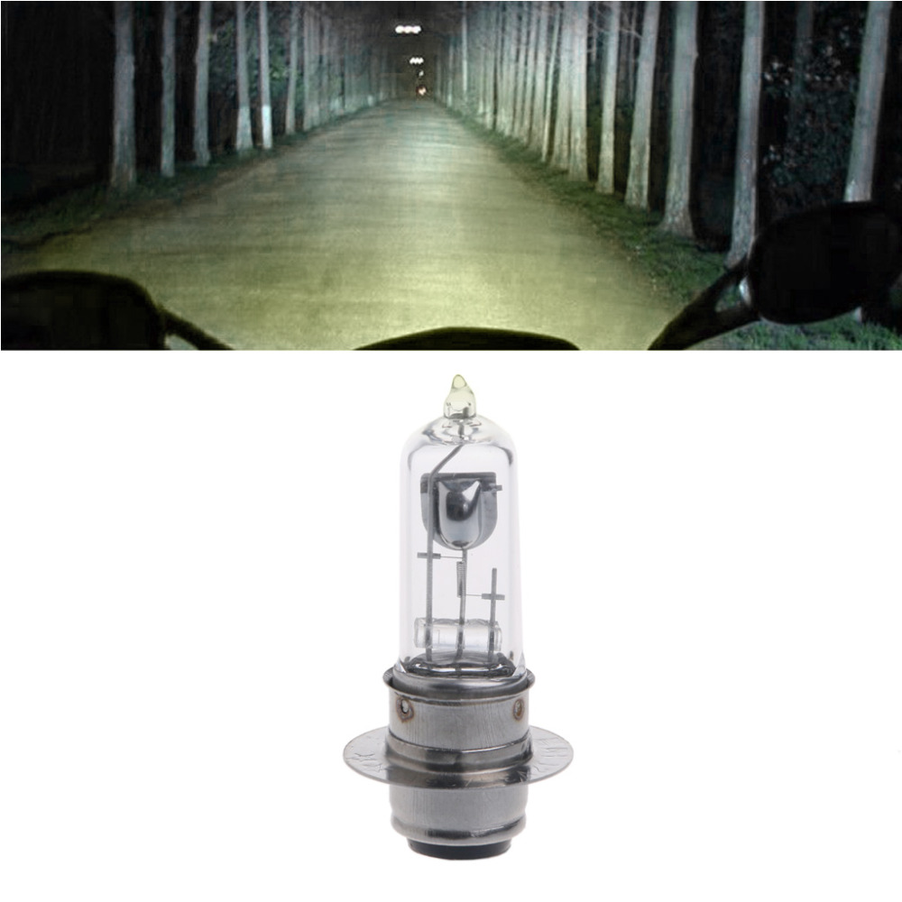 P15D-25-1 DC 12V 35W White Halogen Headlight Bulb Lamp For Motorcycle Electric VehicleP15D-25-1 DC 12V 35W White Halogen Headlight Bulb Lamp For Motorcycle Electric Vehicle