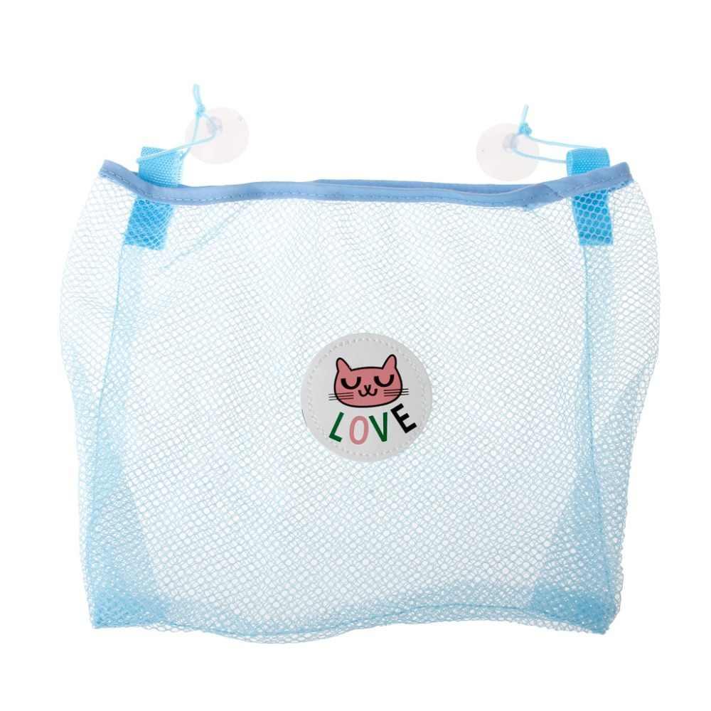 Brinquedo do Banho da criança Saco De Armazenamento Organizador Net Cestas De Sucção Do Banheiro Dos Miúdos Saco do Engranzamento