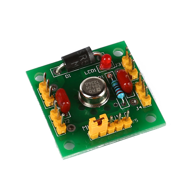 Топ предложения ad584 4 канала 2.5 В/5 В/7.5 В/10 В Высокая точность Напряжение справки модуль зеленый