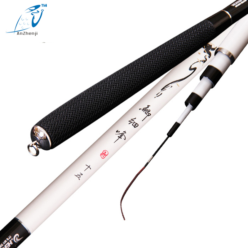 2017 anzhenji Carp fishing rod taiwan carbon ultrafine ultra-light hard 28 hand pole fishing tackle 3.6m 4.5m 5.4m  6.3m 7.2m fishing rod 3 6m 6 3m fishing rod ultra light carbon short hand pole fishing tackle