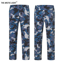 THE ARCTIC LIGHT Camouflage Pants Hiking Men Women Size S - 3XL Warm Winter High Quality Camping Nature Hike waterproof trousers