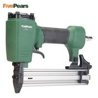 FivePears Air Nailer Gun Straight Nail Gun Pneumatic Nailing Stapler Furniture Wire Stapler F30