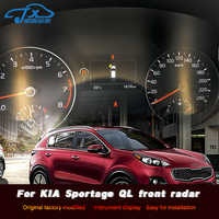 The embedded probe in the front of radar electronic eye front - mounted radar is refitted for KIA Sportage