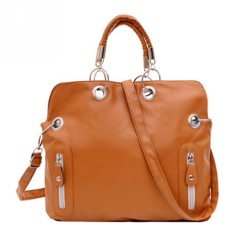 Fashion Luxury Office Ladies Briefcase Women Handbag Shoulder Bags Tote Purse PU